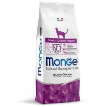Monge / Монж Cat корм для взрослых кошек 10 кг