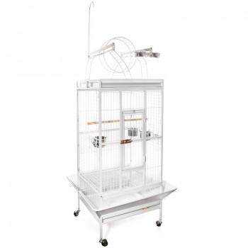 Triol / Триол Клетка BC18-1W для птиц, эмаль, белая, 830*770*1780мм