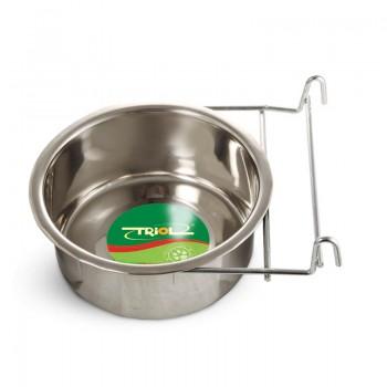 Triol / Триол Миска 4401 металлическая с держателем, 0,15л