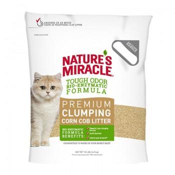 8in1 Наполнитель кукурузный NM Natural Care для кошачьего туалета комкующийся 4,5 кг (10 л)