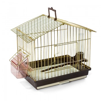 Triol / Триол 311KS Golden Переноска д/птиц 26.5х18.5х23 см