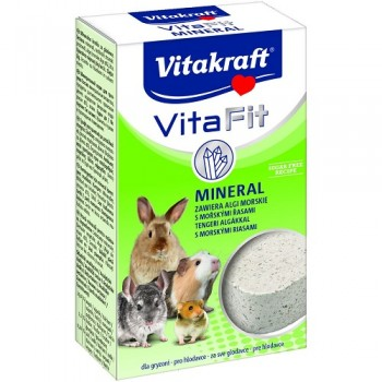 Vitakraft / Витакрафт Nager-Sfein VITA MINERAL Камень для грызунов минеральный 170 гр.