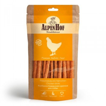 AlpenHof / Альпен Хофф Колбаски баварские куриные для собак 50 гр