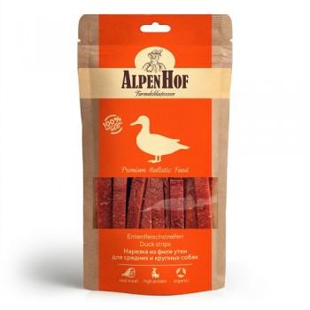 AlpenHof / Альпен Хофф Нарезка из филе утки для сред/круп собак 80 гр