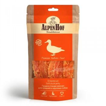 AlpenHof / Альпен Хофф Грудка утиная нежная для сред/круп собак 80 гр