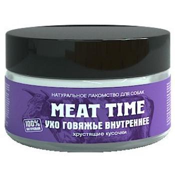 Meat Time / Мит тайм Ухо говяжье внутреннее Хрустящие кусочки, 30 гр