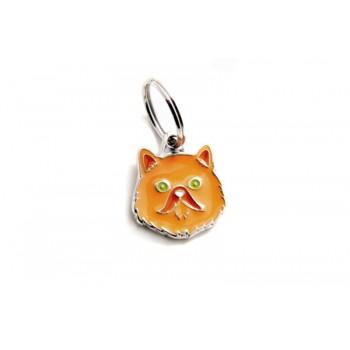My Family / Май Фемили Colors Персидская кошка адресник оранжевый средний
