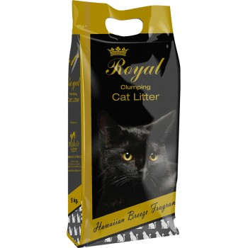 Indian Cat Litter / Индиан Кет Литтер Аромат №1 Гавайский бриз наполнитель бентонит  5 кг