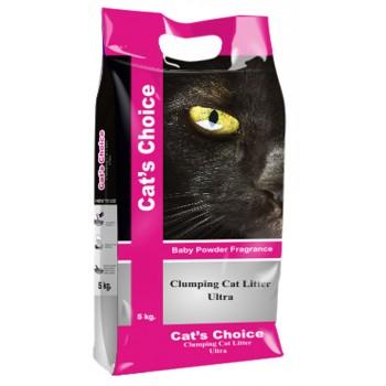 Indian Cat Litter / Индиан Кет Литтер Аромат №6 Детская пудра наполнитель бентонит  10 кг