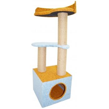 Glory Life / Глори Лайф Инь-Янь с домом спально-игровая площадка для кошек мебельная ткань