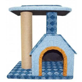 Glory Life / Глори Лайф Камея 6 (изба, площадка) спально-игровая площадка для кошек мебельная ткань 50x40x50 см