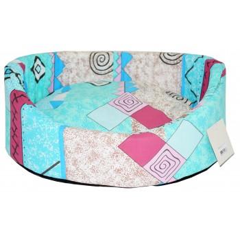 Glory Life / Глори Лайф поплин с подушкой №3 лежанка для кошек и собак разноцветный 49x38x17 см