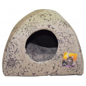 Glory Life / Глори Лайф Дом-Вигвам. Мебельная ткань домик для кошек и собак мебельная ткань 40x40x39 см
