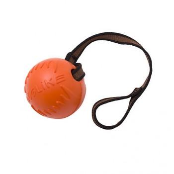 Doglike / Доглайк Мяч с лентой малый (оранжевый)