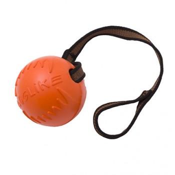 Doglike / Доглайк Мяч с лентой средний (оранжевый)