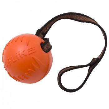 Doglike / Доглайк Мяч с лентой большой (оранжевый)