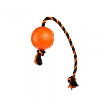 Doglike / Доглайк Мяч с канатом малый (оранжевый)