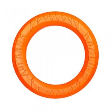 Doglike / Доглайк Снаряд Tug&Twist Кольцо 8-мигранное среднее (оранжевый)