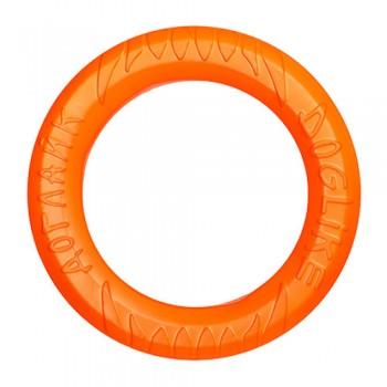 Doglike / Доглайк Снаряд Tug&Twist Кольцо 8-мигранное большое (оранжевый)