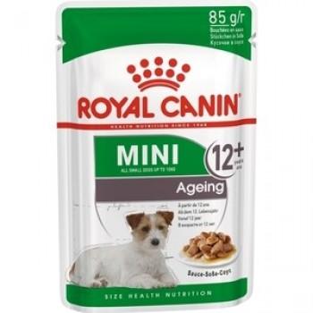 Royal Canin / Роял Канин Mini Ageing 12+ корм для собак мелких пород старше 12 лет (соус), 85 гр