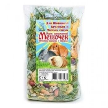 """Престиж """"Витаминный мешочек"""" Лакомство д/грызунов фруктово-овощной с орехами, 100 гр"""