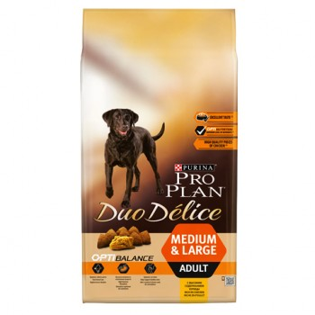 Pro Plan / Про План Duo Delice Adult сухой корм для Собак с Курицей и Рисом, 10 кг