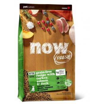 Now! / Нау! Беззерновой для Котят с Индейкой, Уткой и овощами (Fresh Grain Free Kitten Recipe 33/20), 3,63 кг