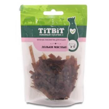 TitBit / ТитБит Дольки мясные для кошек (Вяленые лакомства) 40 г