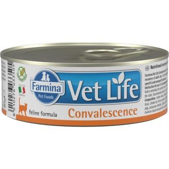 Farmina / Фармина Vet Life CONVALESCENCE кон. паштет диета д/кошек в период восстановления 85 гр