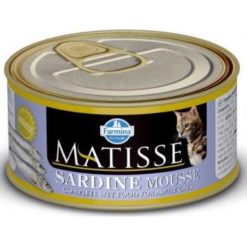 Farmina / Фармина MATISSE кон.д/кошек мусс с Сардинами 85 г