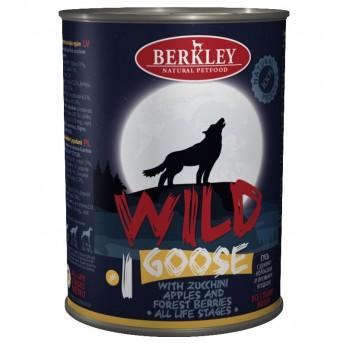 Berkley / Беркли 75080 Wild кон.д/собак №1 Гусь с цукини, яблоками и лесными ягодами 400 г