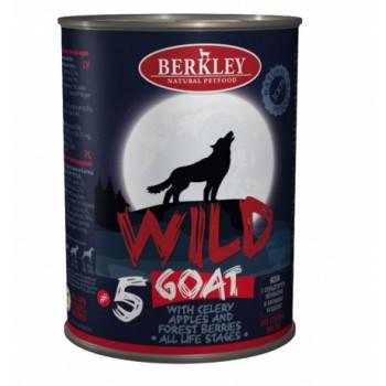 Berkley / Беркли 75084 Wild кон.д/собак №5 Коза с сельдереем, яблоками и лесными ягодами 400 г