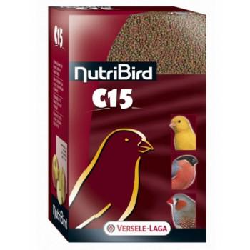 Versele-Laga гранулированный корм для канареек и зябликов NutriBird C15 maintenance 1 кг