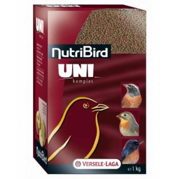 Versele-Laga гранулированный корм для мелких насекомоядных и фруктоядных птиц NutriBird Uni komplet 1 кг