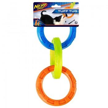 Nerf / Нёрф Игрушка Кольца-грейфер, 29 см, (синий/оранжевый/жёлтый)