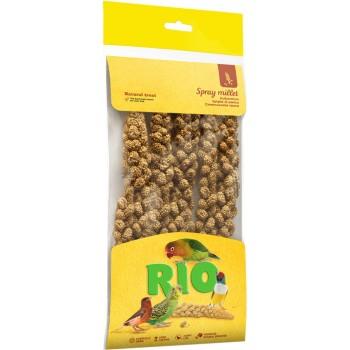 РИО Сенегальское просо в колосьях (лакомство для всех видов птиц), 100 гр