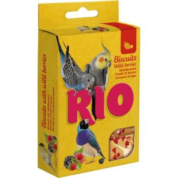 РИО Бисквиты для птиц с лесными ягодами, 7 гр