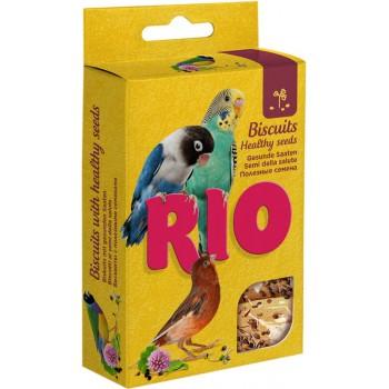 РИО Бисквиты для птиц с полезными семенами, 7 гр