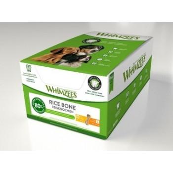 Whimzees / Вимзис дентальное лакомство Рисовая кость для собак М-L 11 см 50 шт в дисплее