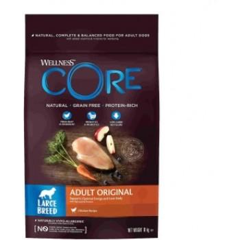 Wellness Core / Вилнес Кор корм из курицы для взрослых собак крупных пород 10 кг