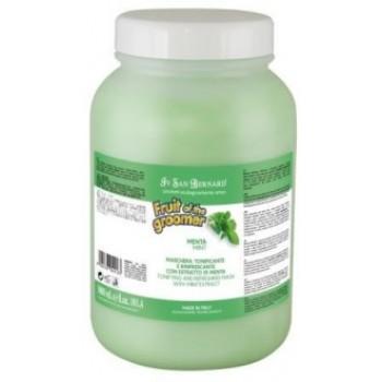 Iv San Bernard / Ив Сан Бернард Fruit of the Grommer Mint Восстанавливающая маска для любого типа шерсти с витамином В6 3 л