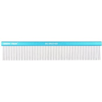 Show Tech Big Brother расческа 25 см с зубчиками 3,5 см, частота 3 мм, голубая