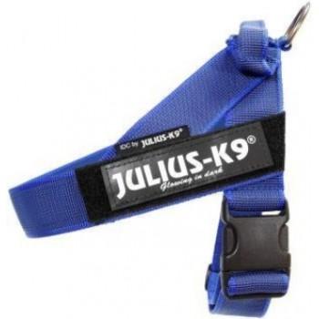 Julius-K9 / Юлиус-К9 шлейка для собак Ремни Color & Gray IDC® 0 (57-74см / 14-25кг), синий