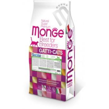 Monge / Монж Cat Monoprotein корм для взрослых кошек с кроликом 10 кг