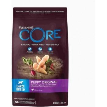 Wellness Core / Вилнес Кор корм из курицы для щенков крупных пород 2,75 кг