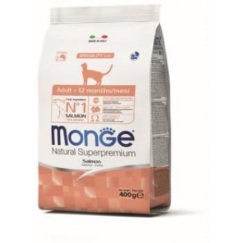 Monge / Монж Cat корм для взрослых кошек с лососем 400г