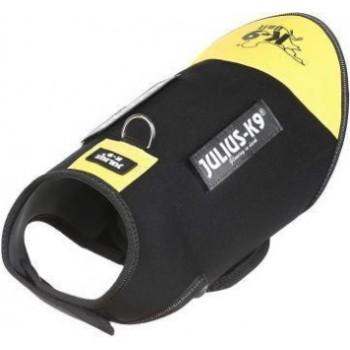 Julius-K9 / Юлиус-К9 жилет для собак Neoprene IDC®  L (70-82см / длина 49см), черно-желтый