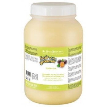 Iv San Bernard / Ив Сан Бернард Fruit of the Grommer Maracuja Восстанавливающая маска для длинной шерсти с протеинами 3 л