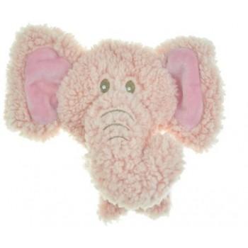 Aromadog / Аромадог Игрушка для собак BIG HEAD Слон 12 см розовый