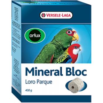 Versele-Laga минеральный блок для средних и крупных попугаев Orlux Mineral Bloc 400 г